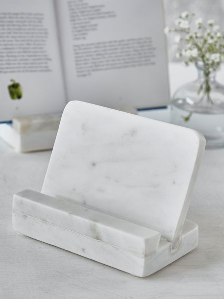 Marble Cook Book Holder