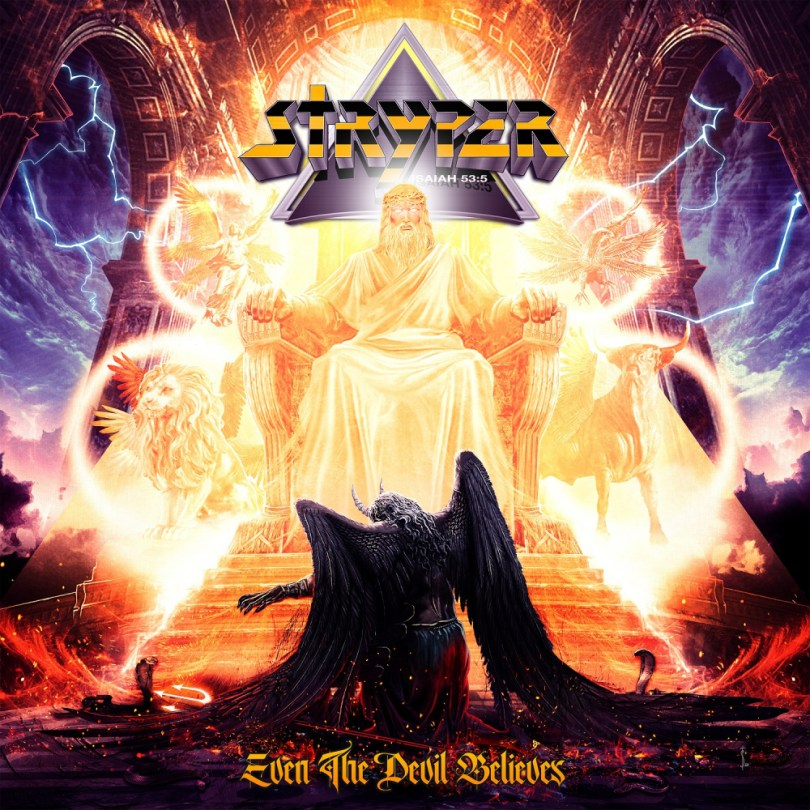 STRYPER: Even The Devil Believes CD - NORDIC MISSION