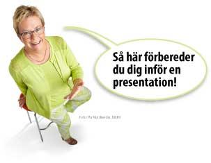 Så här förbereder du dig inför en presentation