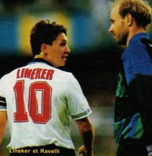 Duel Lineker vs Rivelli - Euro 92