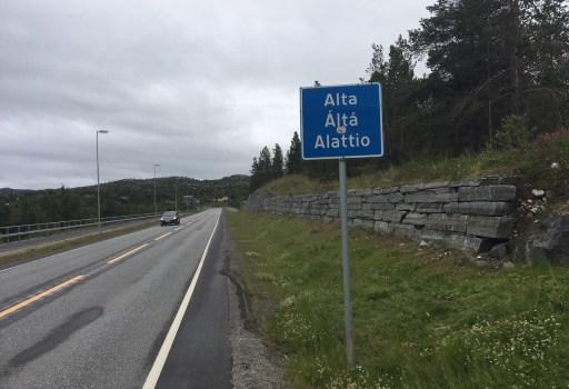 Tag 38 – Fast ganzen Tag Regen, aber in Alta