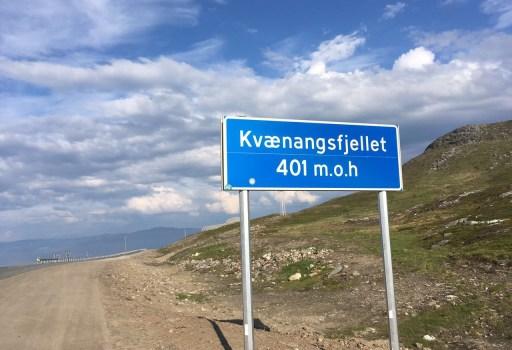 Tag 36 – Über das Kvænangsfjellet