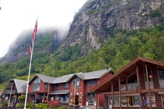 Die Ortschaft Geiranger