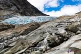 Bitte nicht zu nah an den Gletscher ran!
