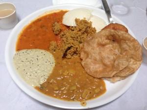 indisches Frühstück