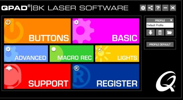 QPAD 8K Laser