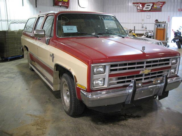 10 Suburban Engine 1985 Chevy