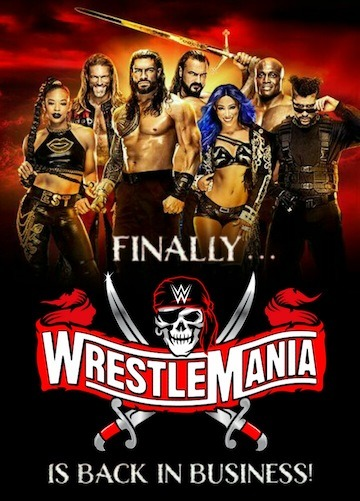 WWE WrestleMania 37 (2021) Night 01 & 02 Full Show Download MP4 HD