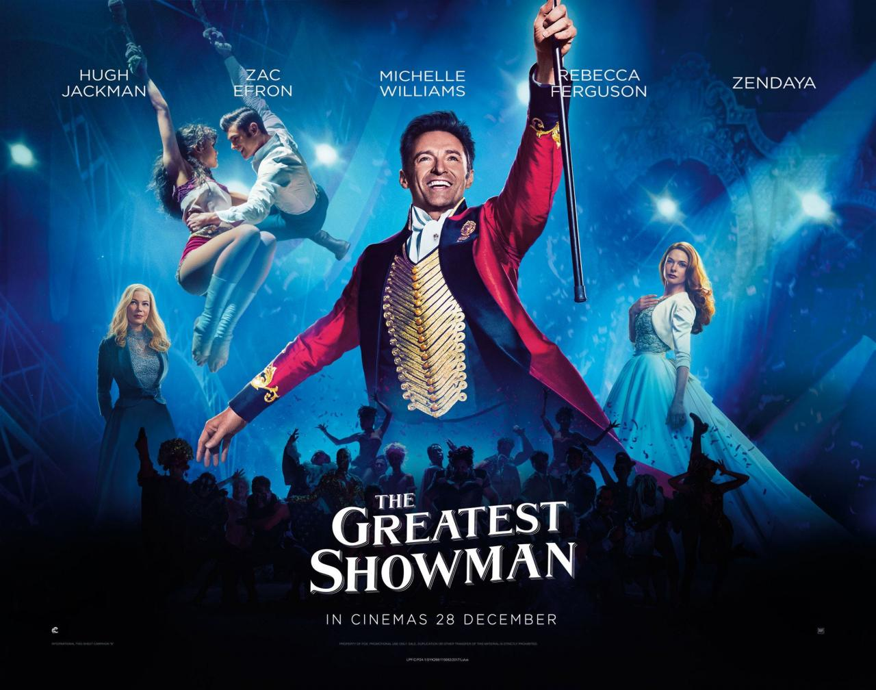 DOWNLOAD The Greatest Showman (2017) Full Movie MP4