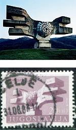 yugo-monument