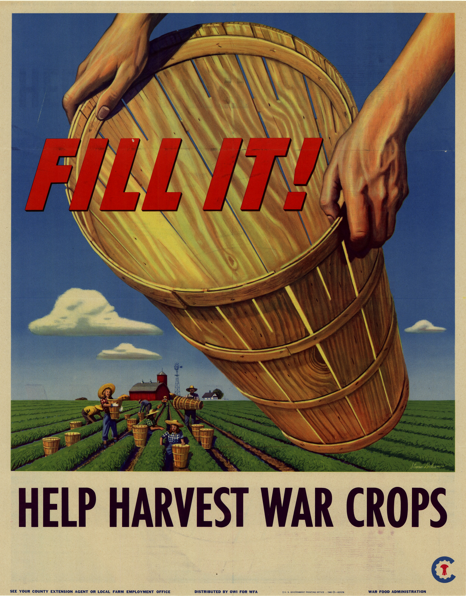 1940s Office of War Information Victory Garden Posters - NoRelevance.com