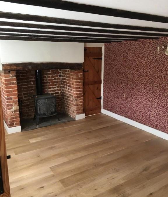 Reepham oak floor