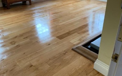 Living room floor sanding in Bagsthorpe near Kings Lynn