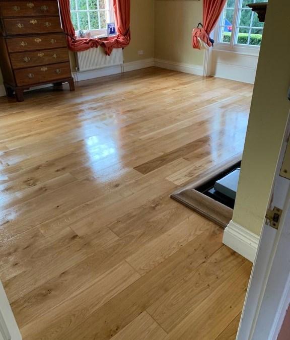 Living room floor sanding in Bagsthorpe near Kings Lynn