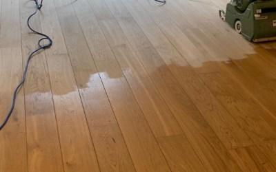 Thorpe St Andrew – 5 year old oak floor