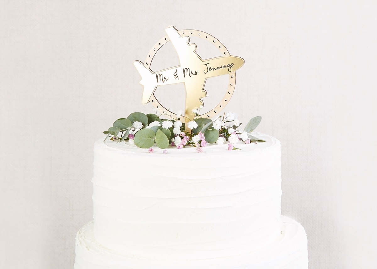 wedding cake topper  raquo  Wedding Cake Topper Travel Theme   norma dorothy Wedding Cake Topper Travel Theme