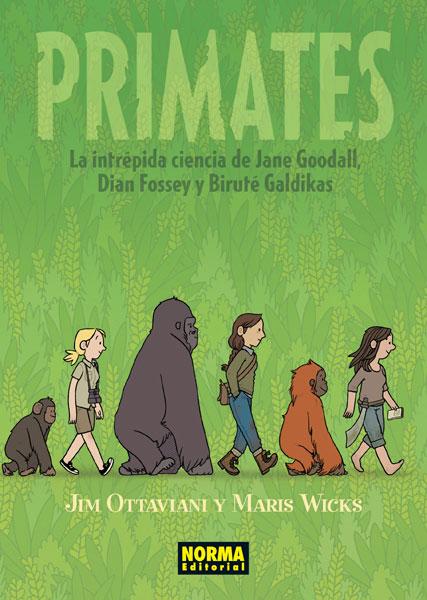 Primates Goodall Fossey Galdikas
