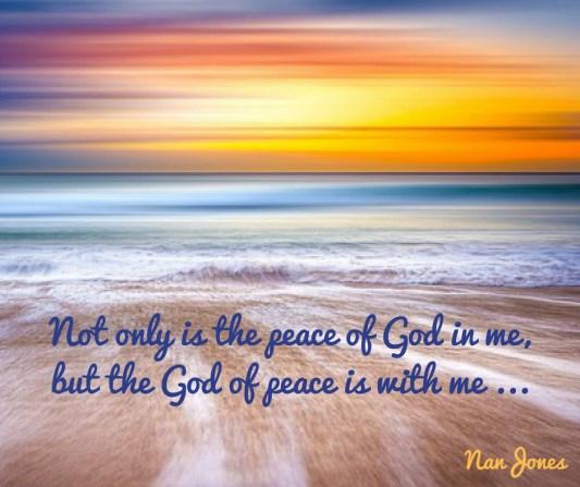 God's. Perfect Peace meme