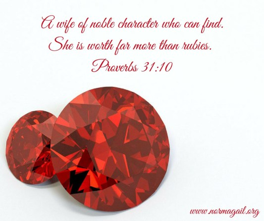 More Than Rubies scripture