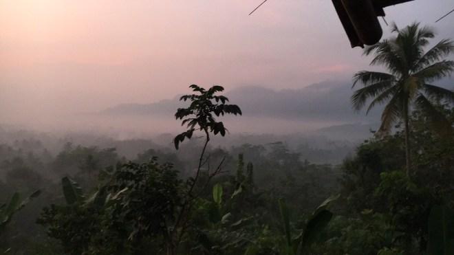 zonsopgang yogya