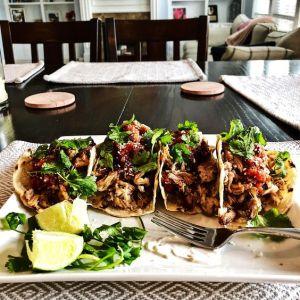 Carnitas sous vide, heerlijk sappige Mexicaanse pulled pork
