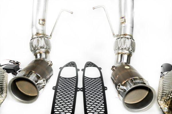 "McLaren 570S / 540C ""600LT Style"" Valvetronic Sport Catalytic Converter Exhaust System"
