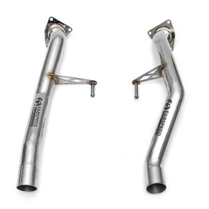 Porsche 957 Turbo / Turbo S Secondary Cat Bypass Pipes (2008-2010)