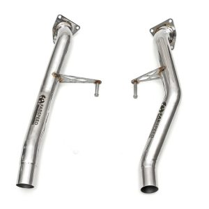 Porsche 957 S / GTS Secondary Cat Bypass Pipes (2008-2010)