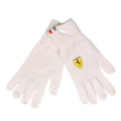 Ferrari white glove