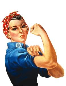 rosie the riveter, our feminist avatar