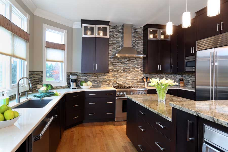 Rule Of Thumb For Stacked Kitchen Cabinets Normandy