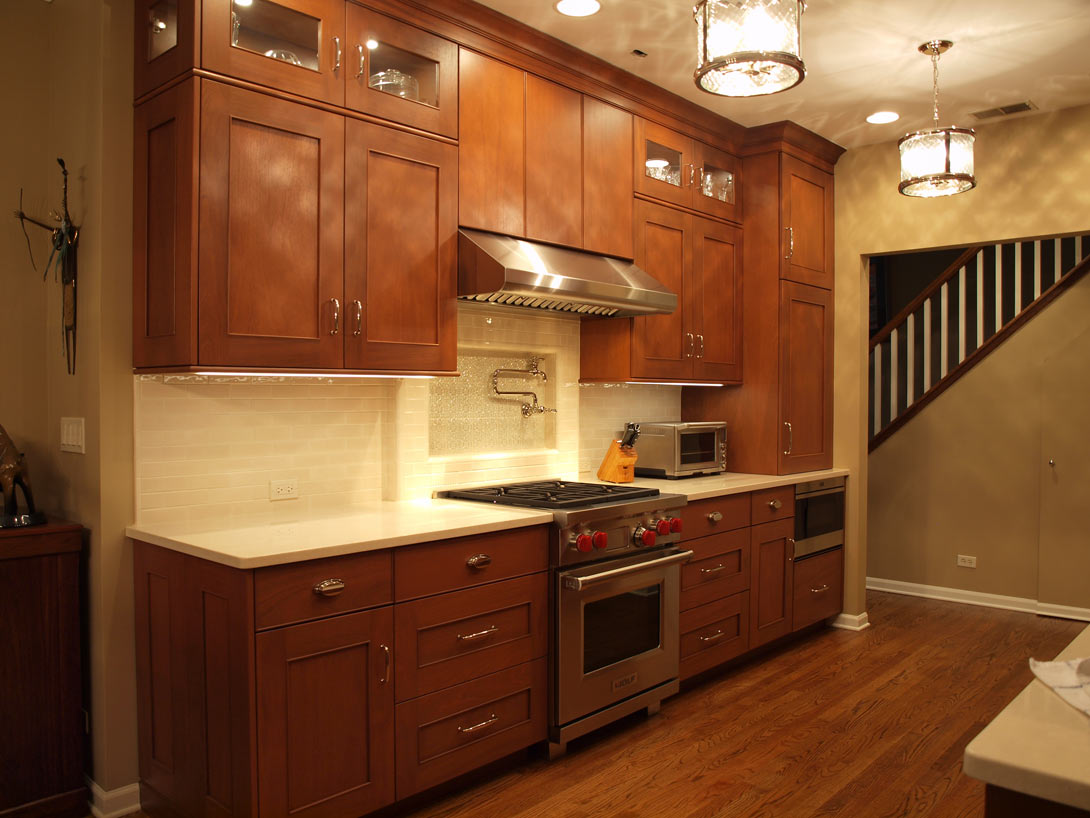 Shaker Style Galley Kitchen Normandy Remodeling