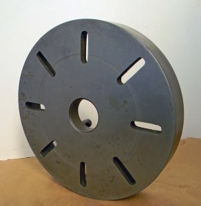 """Quality 15"""" Lathe Face Plate"""
