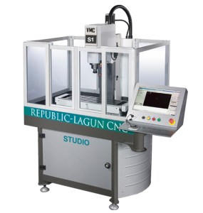 "Republic Lagun 3-Axis CNC Vertical Machining Center with Fagor Control, Studio Mill ""S1"""