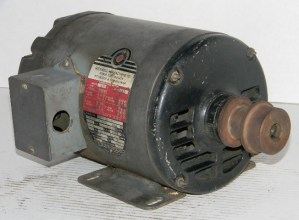 Rockwell 3/4 HP Three Phase Electric Motor