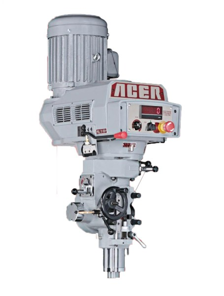 Acer Bridgeport Style E-Mill Milling Head, MO-380 E-Mill