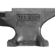 Pieh Blacksmith Tools 200 lb. Single-Horn Blacksmith Anvil