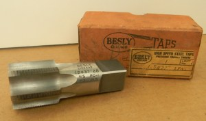 Besly Taps High Speed Steel 6-Flute 28NS Pipe Tap