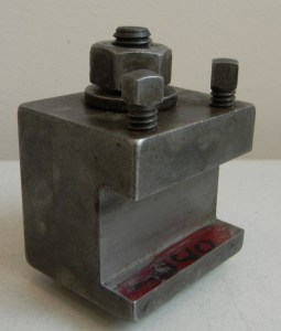 "Tool Holder For 7/8"" Square Shank Tooling"