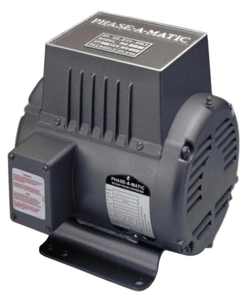 Phase-A-Matic 220 Volt Rotary Phase Converter, R-10