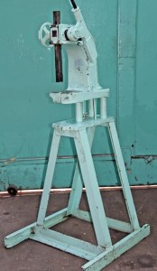 Dake 3 Ton Ratchet Leverage Arbor Press With A-Frame Stand