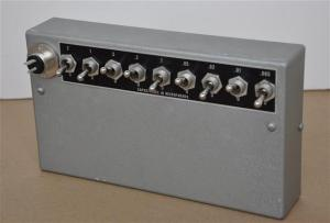 Capacitance Electric Testing Switch Box