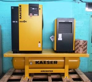 Kaeser Rotary Screw Compressor, Air Center, SK-15