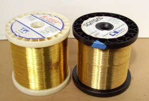 Brass Edm Wire 2 Spools (0.15 - 0.20 Mm)