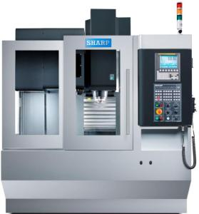 "Sharp 24"" x 16"" CNC High Precision Linear Way Compact Vertical Machining Center, SVL-2416S"