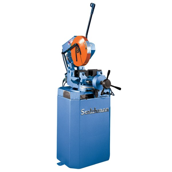 """Scotchman 14"""" Cold Saw with Air-Operated Vise, CPO 350 PK"""