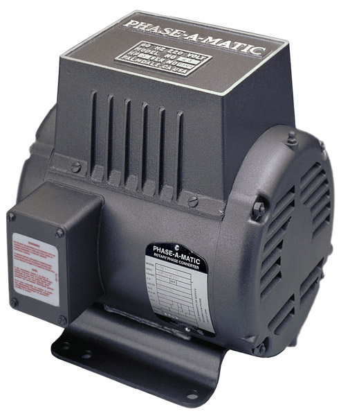 Phase-A-Matic 220 Volt Rotary Phase Converter, R-7