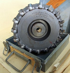 """Ingersoll 8"""" Indexable Face Mill Cutter Set"""