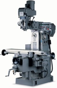 "Sharp 10"" x 56"" Vertical/Horizontal Milling Machine, VH-25"