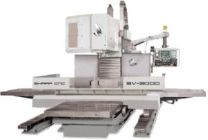 "Sharp 39"" x 125"" Vertical Machining Center, SV-3000"